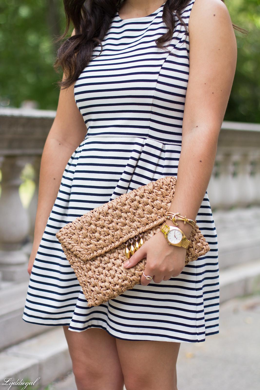 striped dress, espadrille sandals, straw clutch-17.jpg