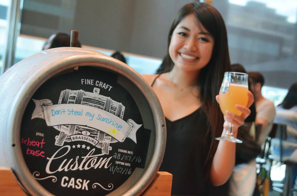 3 Brewers - Cask Tasting