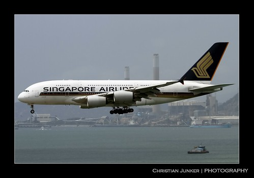 Airbus | A380-841 | Singapore Airlines | 9V-SKF | Hong Kong | HKG | VHHH | by Christian Junker | Photography
