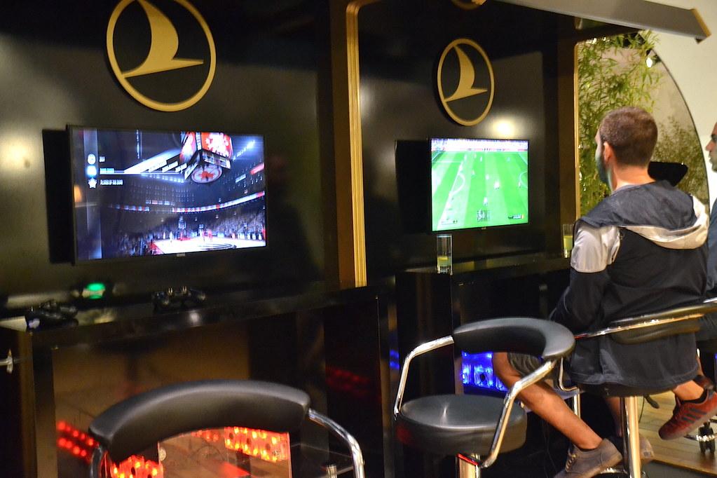 土耳其航空貴賓室電玩區