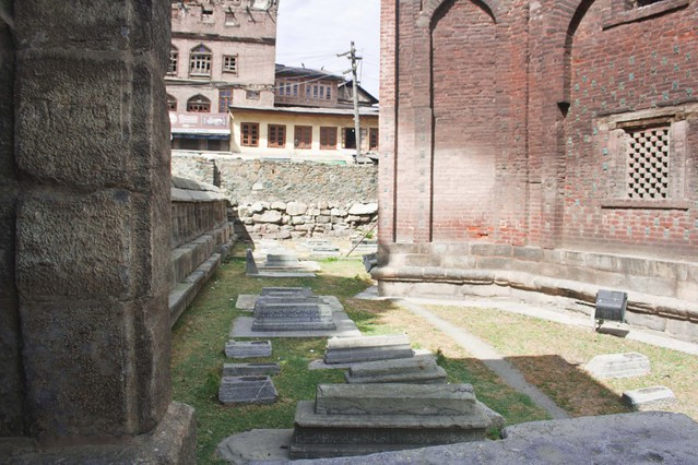 Mazar-I-Salateen Islamic Graveyard in Srinagar, Jammu & Kashmir, India