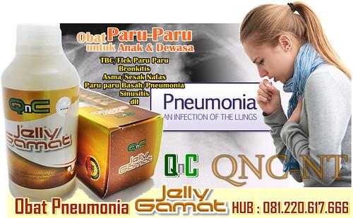 Obat Paru Paru Basah atau Pneumonia