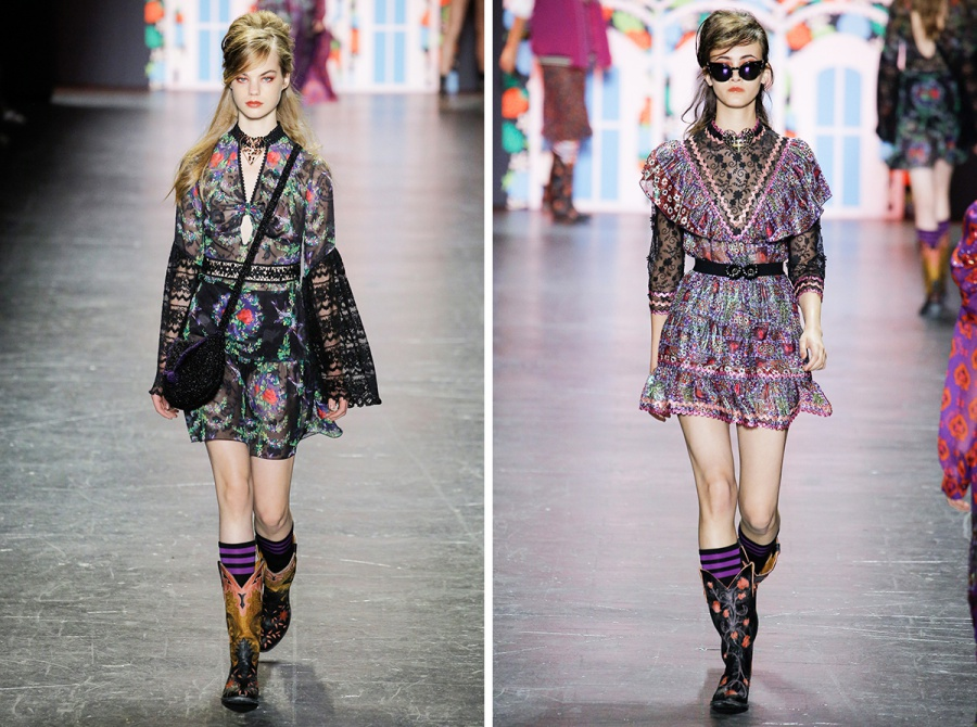 Anna Sui Spring 2017 Collection