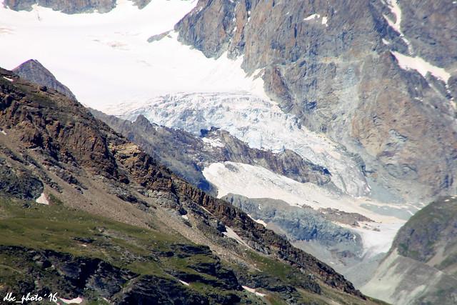 Glaciar en la subida