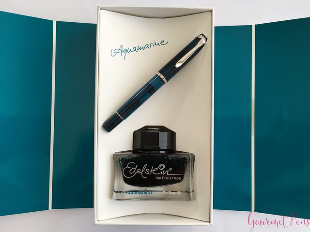 Review Pelikan Classic M205 Aquamarine Fountain Pen Review @AppelboomLaren 2