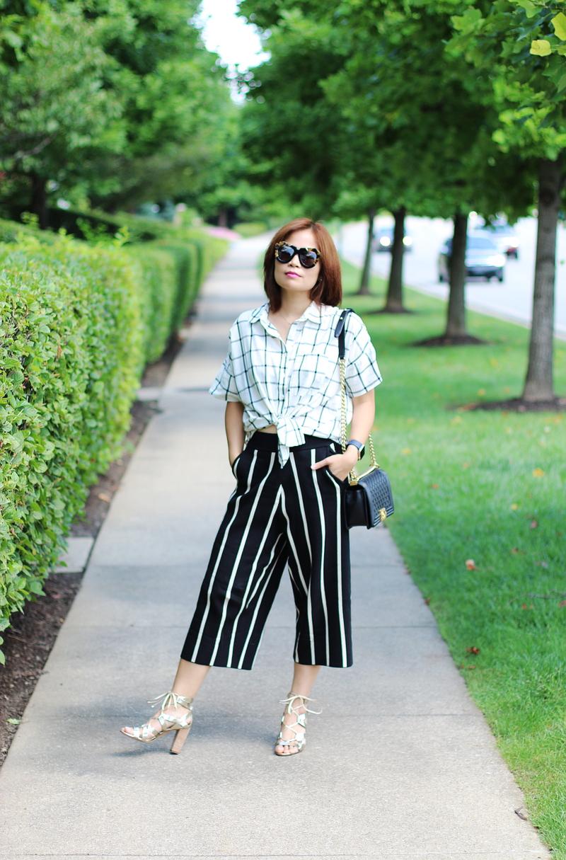 plaid-shirt-versona-stripe-pants-chanel-boy-bag-2