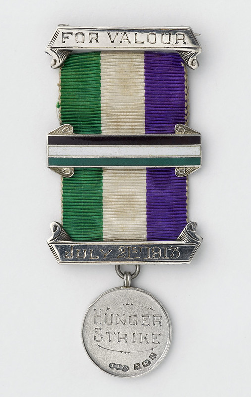 Medal commemorating Nellie Hall's hunger strike, 1913
