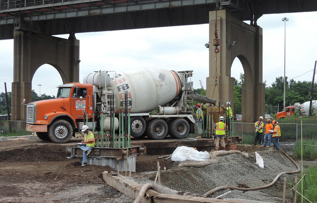 Goethals Bridge Replacement Project - Progress - July 2015
