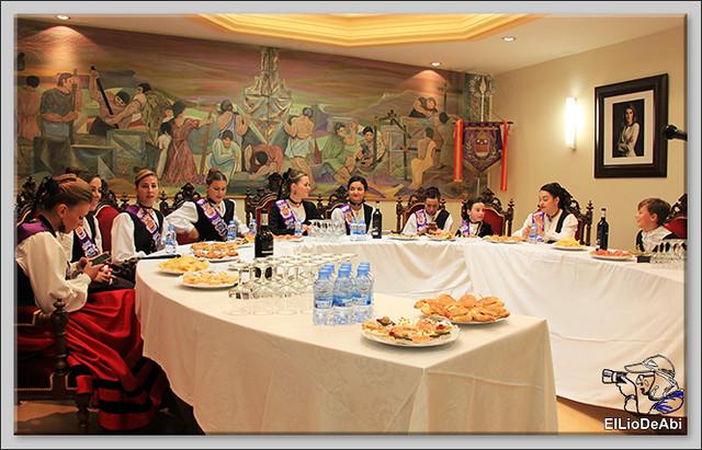 Briviesca en Fiestas 2016 Sopa de ajo, Recepción y canto del Himno a Briviesca 1 (3)