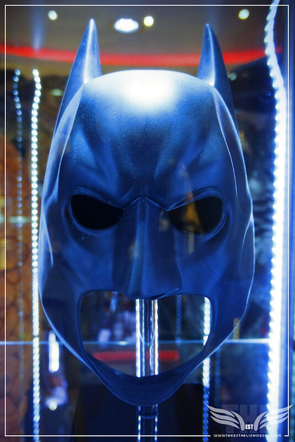 The Establishing Shot: CHRISTIAN BALE's BATMAN COWL FROM THE DARK KNIGHT & THE DARK KNIGHT RISES - PROP STORE ENTERTAINMENT LIVE AUCTION PREVIEW EXHIBITION - ODEON BFI IMAX, LONDON