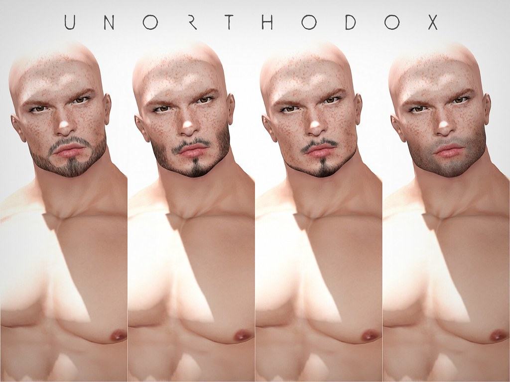 Unorthodox Facial Hair Appliers