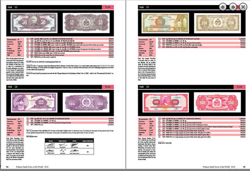 Polymer Banknotes of the World inside