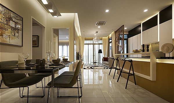 Bennington Residences - Kitchen & Dining Area