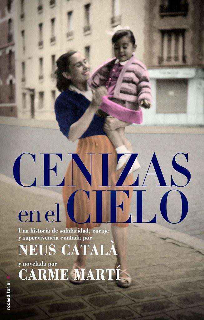 5bisMARTÍ, Carme. Cenizas en el cielo. Barcelona: Roca Editorial de libros, 2012 (Portada)