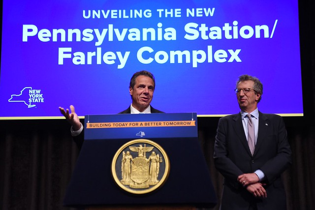 Governor Cuomo Unveils New Pennsylvania Station/Farley Complex