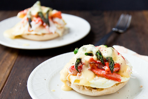 Eggs Oscar with King Crab | by TheBrewer&TheBaker