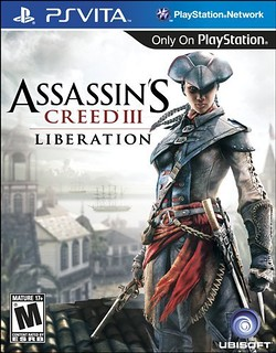 Assassin's Creed III Liberation for PS Vita - box art | by PlayStation.Blog