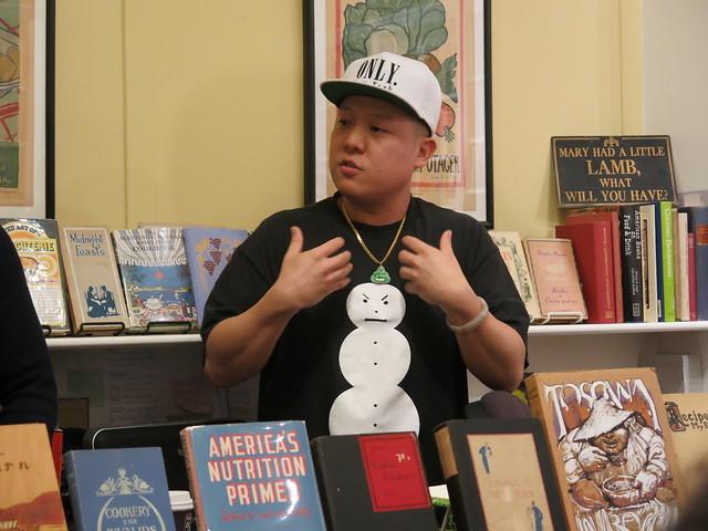 Eddie Huang at Omnivore Books