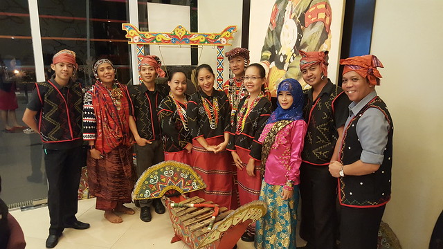Staff of Bistro Selera SM Lanang Premier - Philippine Travel Exchange (PHITEX) 2016 | Foreign Tour Operators and Buyers Looking at Davao's Potential - photo by DavaoLife.com
