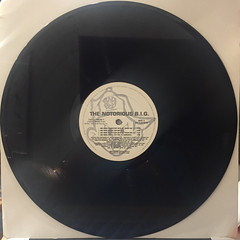 THE NOTRIOUS B.I.G.:ONE MORE CHANCE(RECORD SIDE-A)