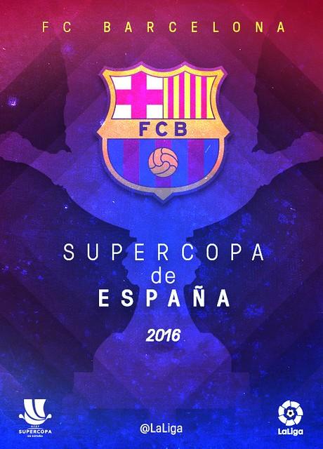FC Barcelona Campeón de la Super Copa de España