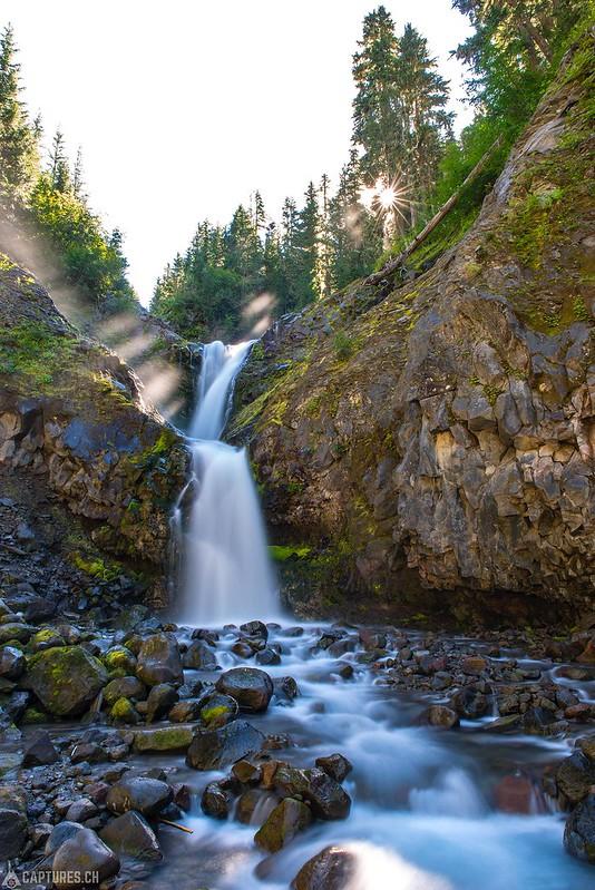 Waterfall - Mount Rainier National Park