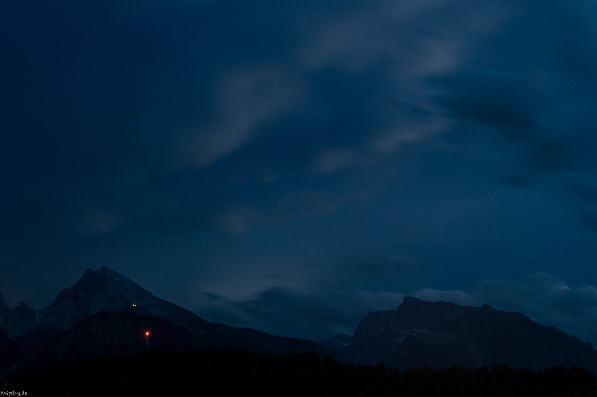 Watzmann at night
