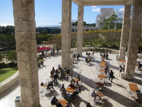 Garden Terrace Cafe Getty Menu