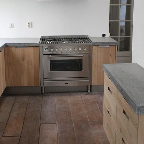 Koak design massief eiken houten keuken met ikea keuken ka flickr - Decoratie stijl van de bergen ...