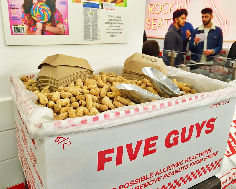 Five guys en Madrid