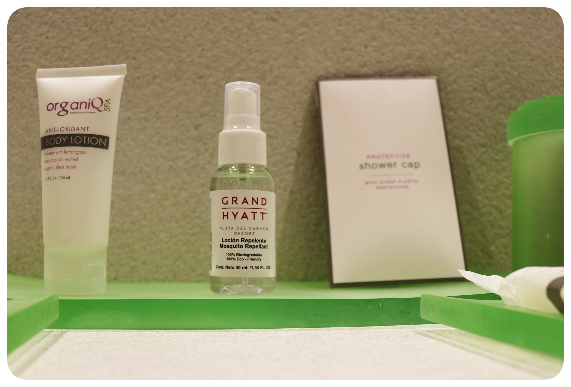 grand hyatt playa del carmen toiletries