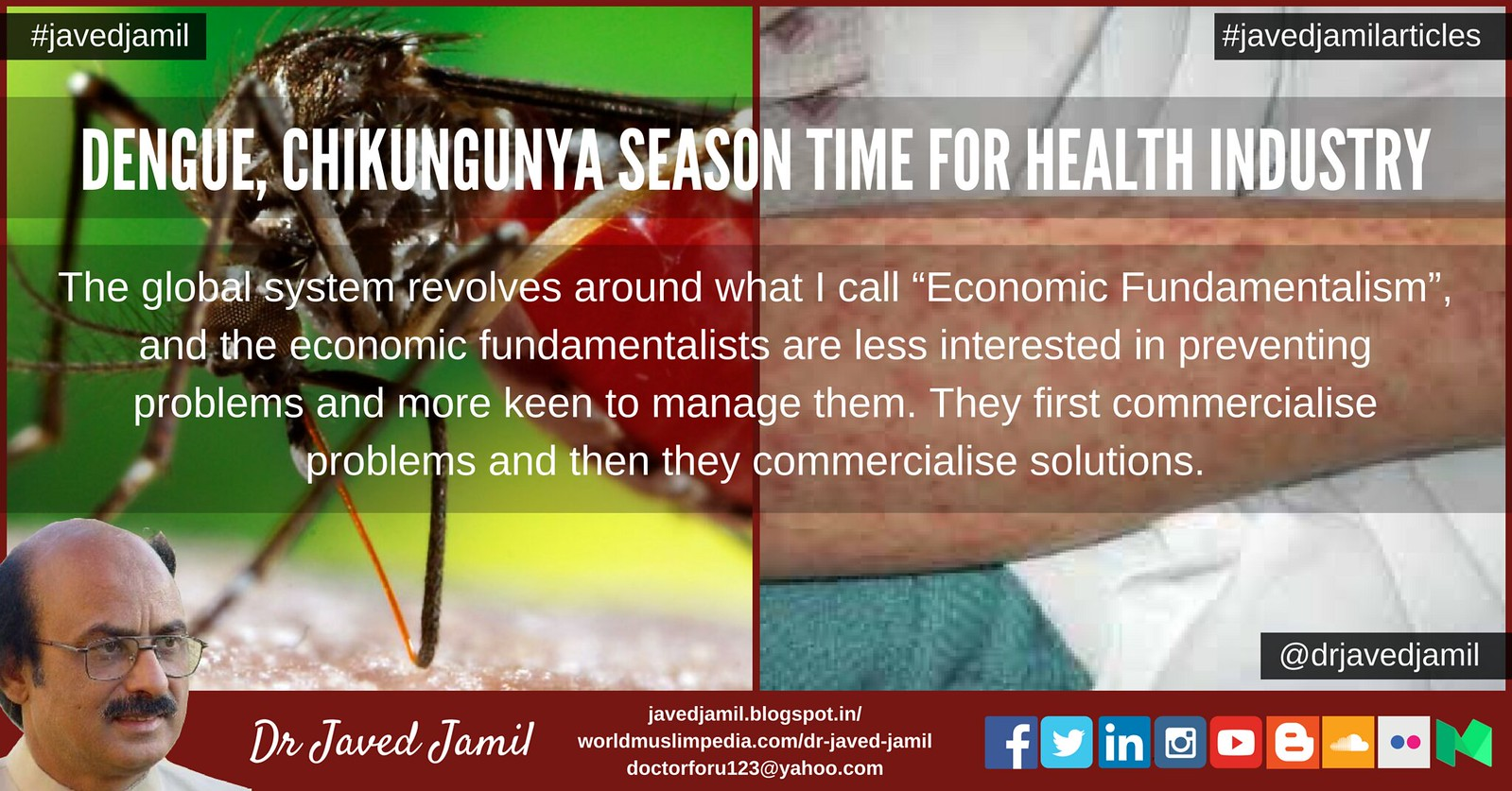 Dengue, Chikungunya season time for Health Industry