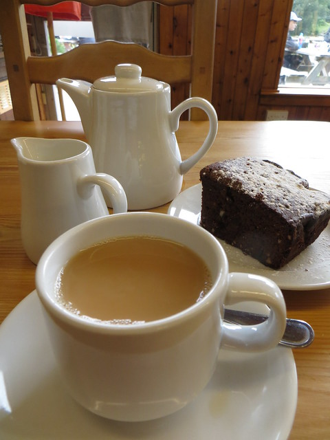 post snowdon tea and cake