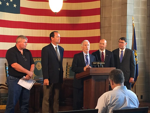 Gov. Ricketts, Roads Department Unveil Selection Criteria for County Bridge Program - 9/20/2016