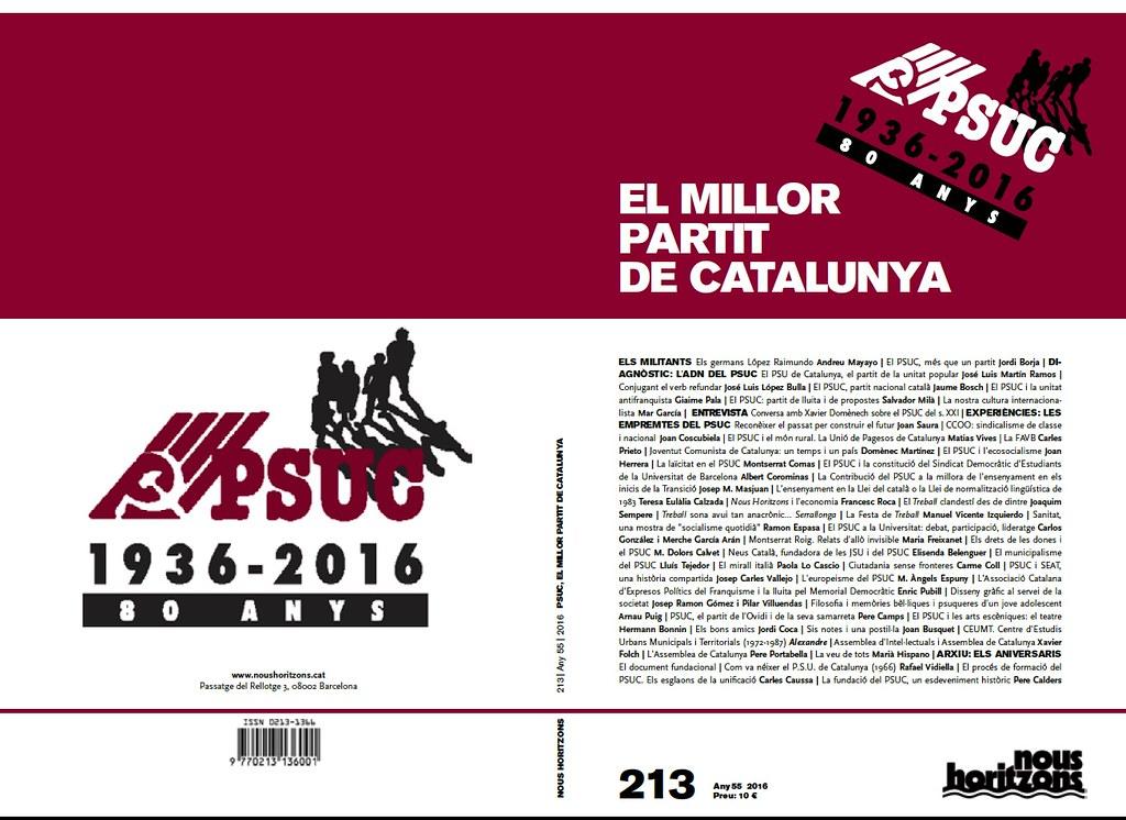 """""""Neus Català, fundadora de les JSU i del PSUC"""" per Elisenda Belenguer (Portada)"""