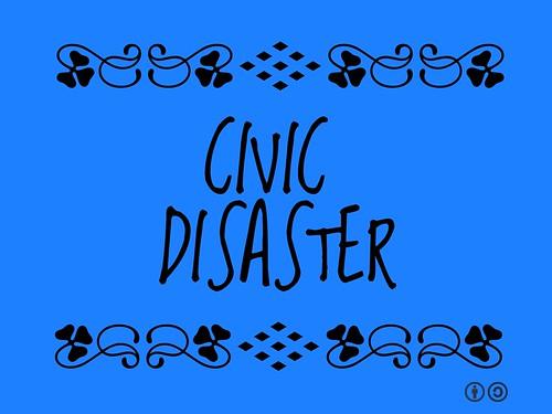 Buzzword Bingo: Civic Disaster
