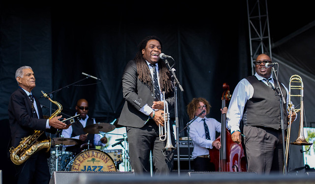 Preservation Hall Jazz Band at LouFest 2016 in Forest Park 9/10/16