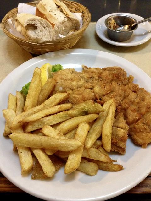 Pollo suprema con fritta, Rosario