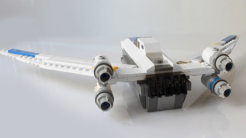 Moc U Wing With Instructions Lego Star Wars Eurobricks Forums
