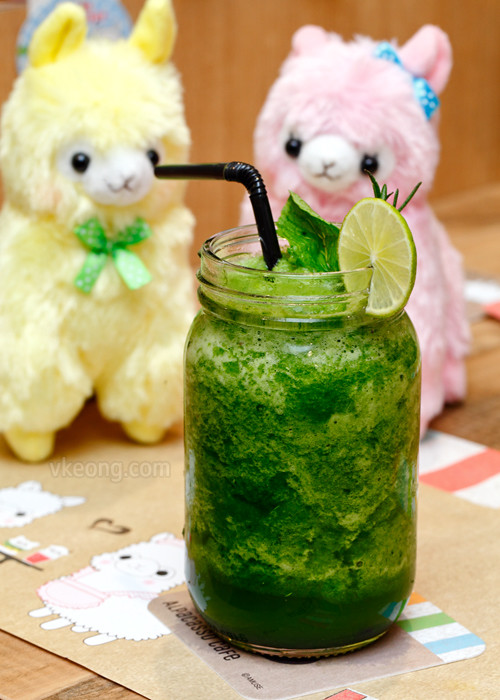 Garden Fresh Smoothie Alpacasso Cafe