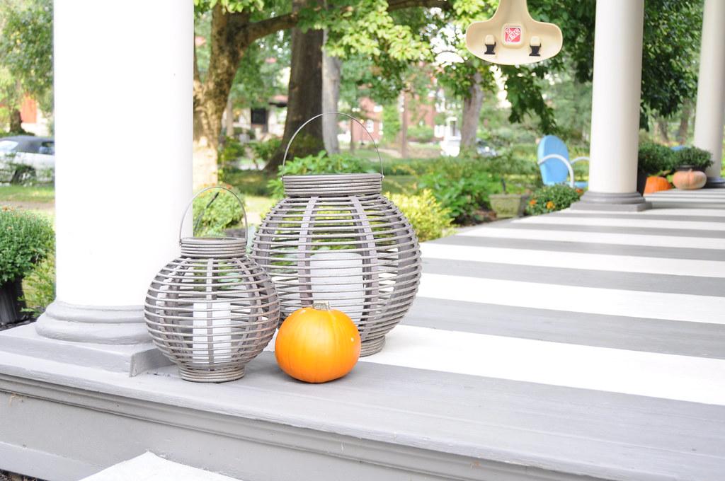 2016 Fall Porch Makeover