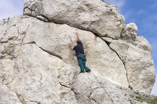 Climbing - Wspinaczka na Jurze, Poland
