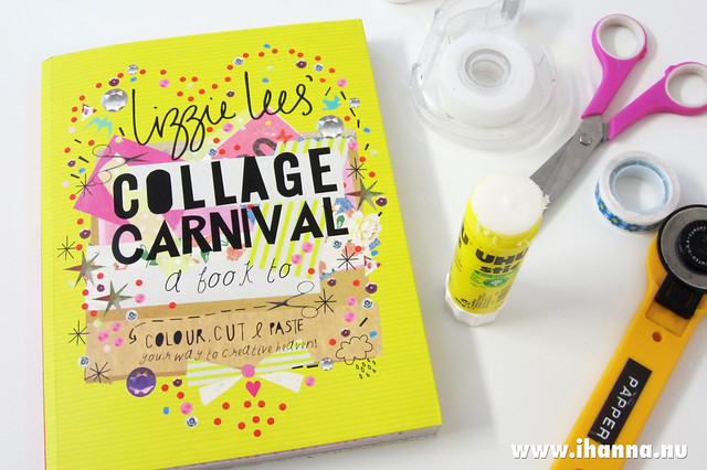 Collage Carnival – cut and paste your way to Creative Heaven – a video book review