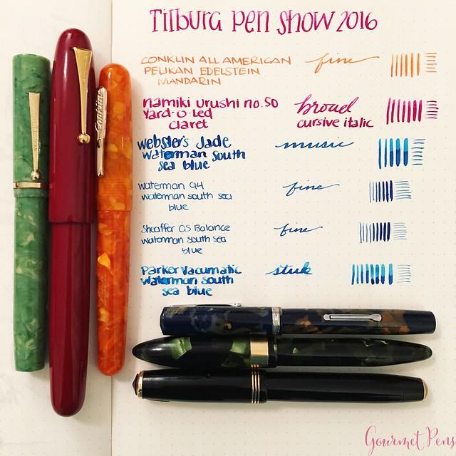 Field Trip - Tilburg Pen Show 2016 Recap 42