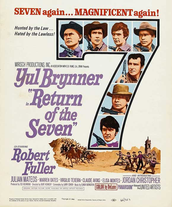 Return of the Magnificent Seven - Poster 1