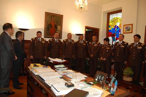 Ministro Del Interior Viceministro De Seguridad Y Alto Ma