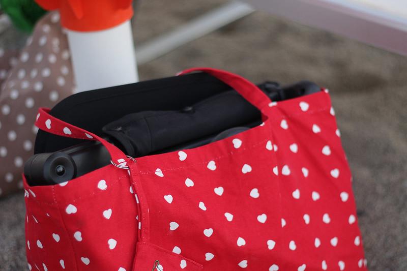 GB Pockit in una borsa