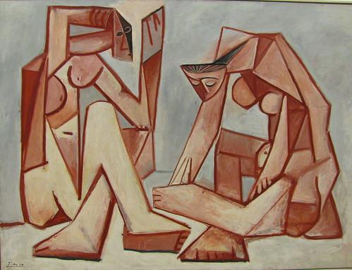 Pablo Picasso. Deux Femmes Sur La Plage
