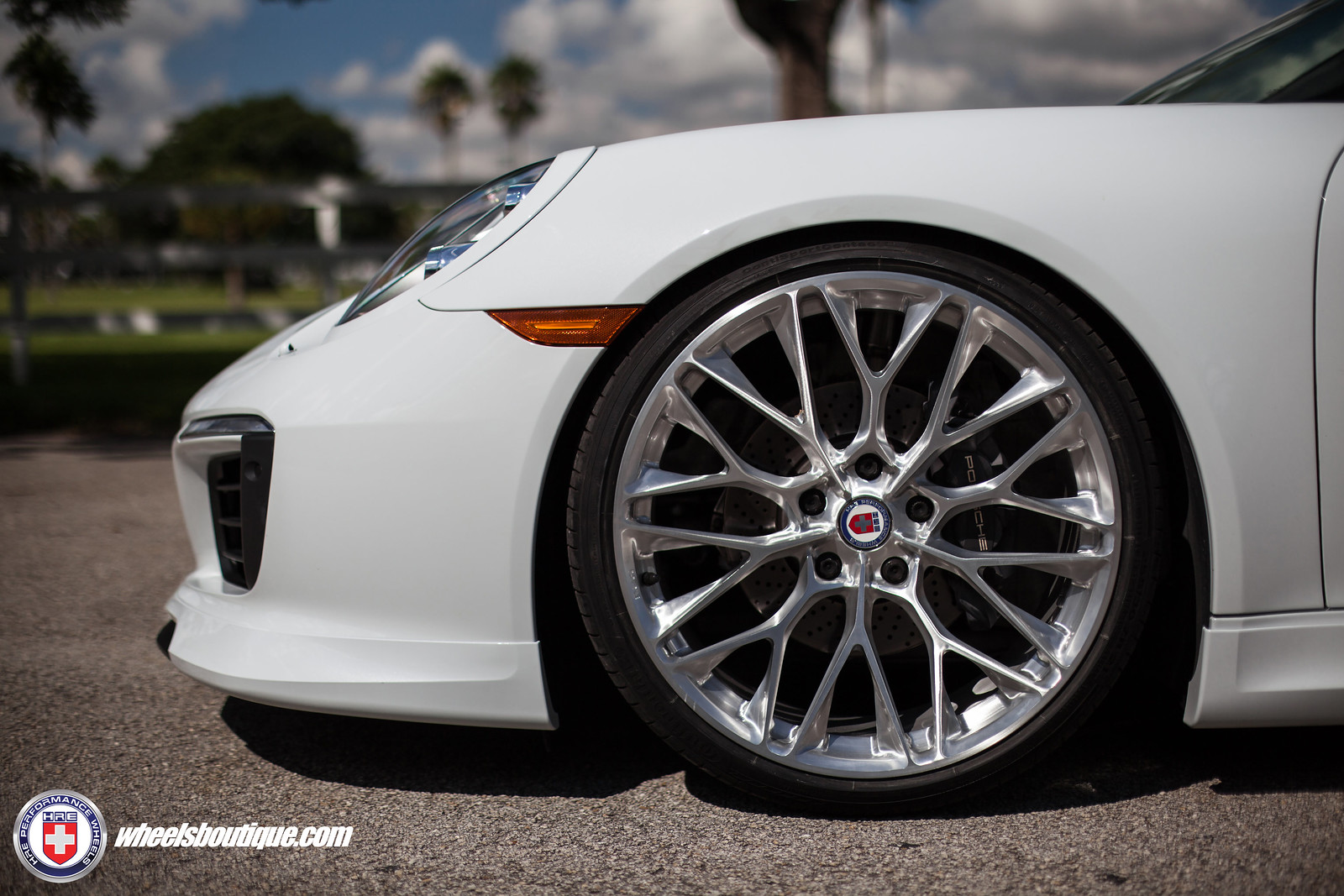 991.2 Porsche Carrera on HRE's Monoblock P200 by Wheels ...