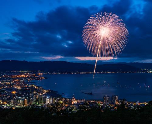 Lake Suwa Fireworks